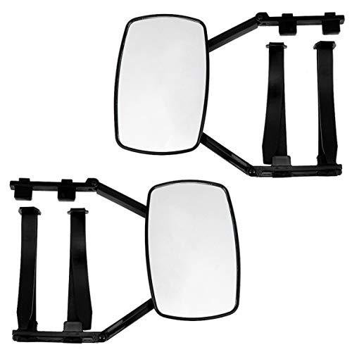 Veemoon Espejo de Remolque con Clip Universal Espejo de Remolque Extensible Espejo de Extensión de Tractor Espejo Retrovisor de Caravana para Automóviles