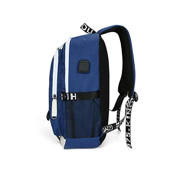 41lz5k+CwIL. SS600  - Mochila Blackpink 36L-55L con Puerto de Carga USB Mochila de Ocio para Niñas Niños
