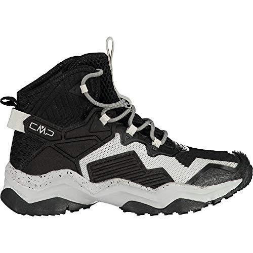 C.P.M. Yoke Wmn WP Hiking Shoe, Scarpa da Trekking Donna, Nero/Grey, 38 EU