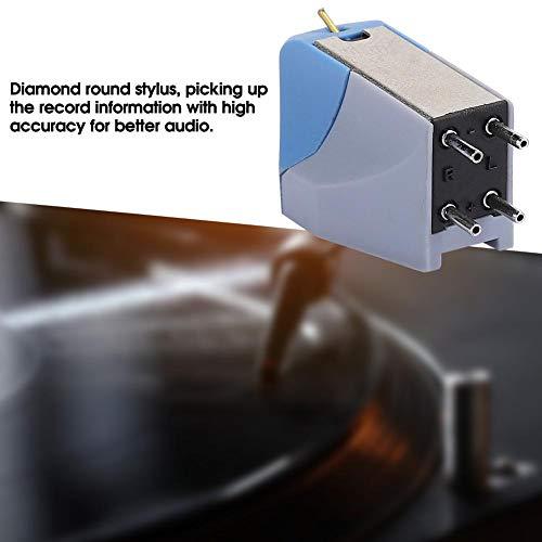 5,00 g Retroilluminazione LCD blu per cartuccia fono del braccio Calibro della scala della forza dello stilo del mini giradischi digitale ad alta precisione 0,01 g