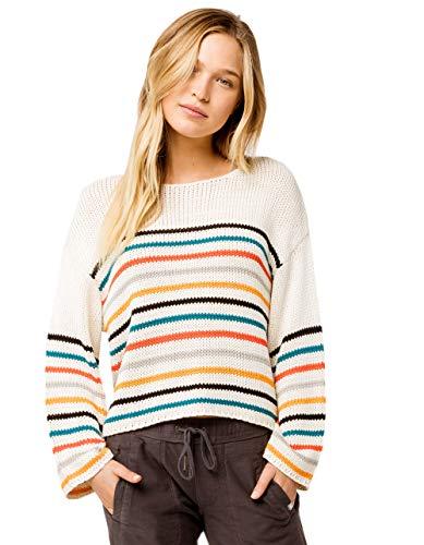 Rip Curl Damen GOLDEN Haze Soft Crew Sweater Sweatshirt, vanille, X-Smalls