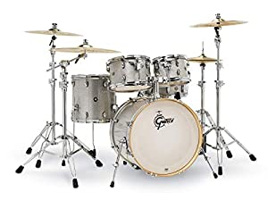 Gretsch Drum Set, Silver Sparkle (CM1-E605-SS)