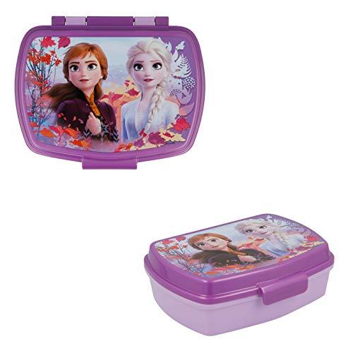 Les Colis Noirs LCN - Boite a Gouter Disney La Reine des Neiges 2 - Frozen Enfant École Rentrée - 742
