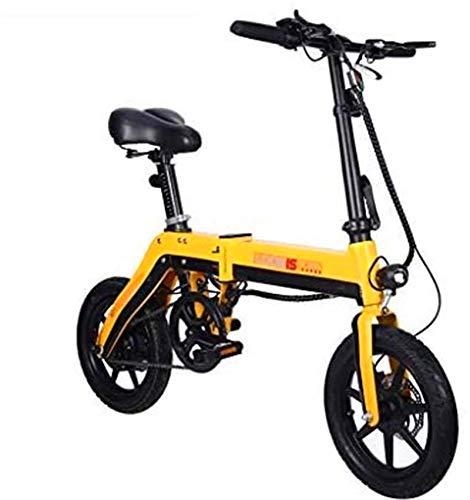 Bicicleta de montaña eléctrica, Al aire libre de bicicletas eléctricas, bicicletas eléctrica plegable for adultos 250W 36V Motor urbana plegable de cercanías E-bici Ciudad de bicicletas Velocidad máxi