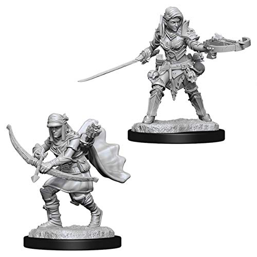 Pathfinder Battles Deep Cuts Unpainted Miniatures: Wave 7: Half-Elf Female Ranger