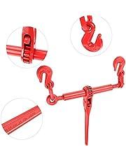 Ausla - Juego de 2 correas para rueda de 5/16-3/8 pulgadas, con enganche de cadena