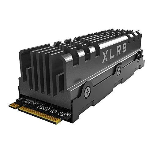 PNY XLR8 CS3140 M.2 NVMe Gen4 x4 Unidad de Estado Sólido (SSD) Interna con Heatsink de 1TB, Velocidad de Lectura hasta 7500 MB/s, Velocidad de Escritura hasta 5650 MB/s