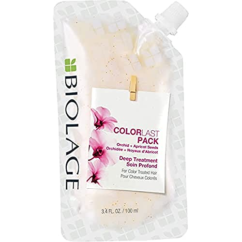 BIOLAGE ColorLast Deep Treatment Pack | Mutli-Use Hair Mask | Vegan &...