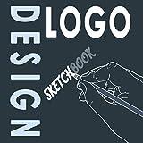 Logo design sketchbook: Designer's sketchbook, square size 8.5' x 8.5', 120 pages, for logo creators
