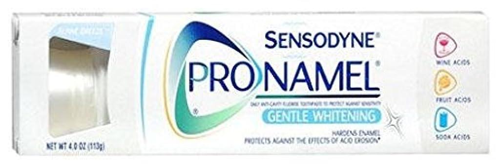 賞賛する懲らしめアルファベット順海外直送肘 Sensodyne Pronamel Toothpaste Whitening, Whitening 4 oz