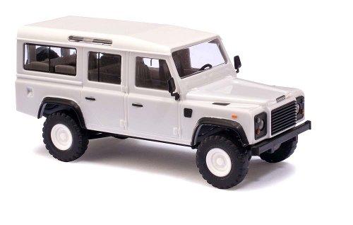 Busch Voitures - BUV50300 - Modélisme Ferroviaire - Land Rover Defender - Blanc