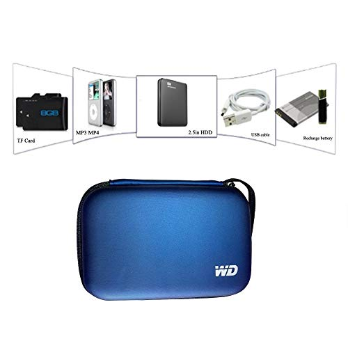 WD 2.5 inch Inch External Hard Disk case (Water Proof,Shock Proof) for...