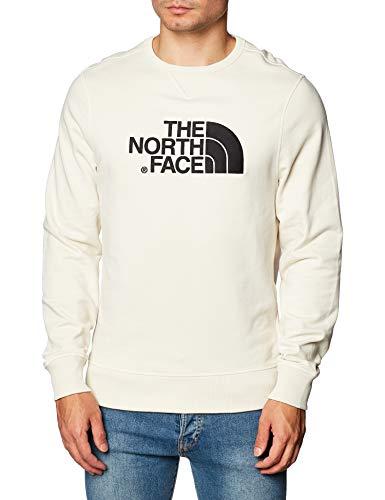 The North Face Drew Peak Crew Light Sudadera Vintage White