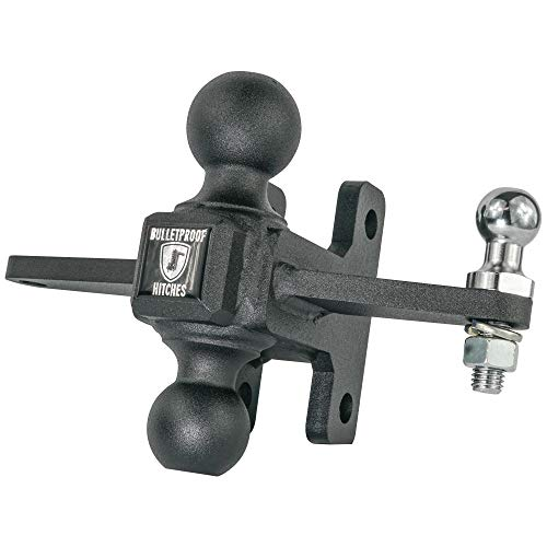 Why Choose BulletProof Hitches Extreme Duty Sway Control Ball Mount Combinaion with 2 and 2-5/16 S...