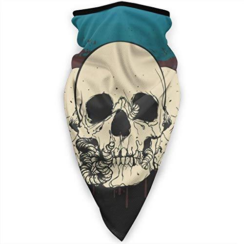 Skull Neck Gaiter Sun UV-stofbescherming gezichtsmasker winddicht ademende bandana balaclava 5JM-HX