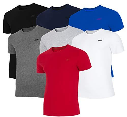 4F Nosh4-tsm003 27m T-Shirt, Gris Clair, S/M Homme