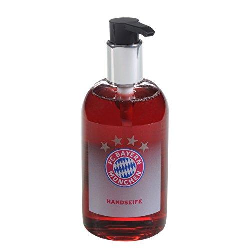 FC Bayern München Seife/Handseife/Flüssigseife im Seifenspender 300 ml FCB - Plus gratis Aufkleber Forever München