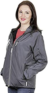 VERSATYL - World's 1st Multi-Utility Travel Jacket with 18 Pockets and 29 Features for Women with Gloves, in-Built Satchel, Detachable Hood