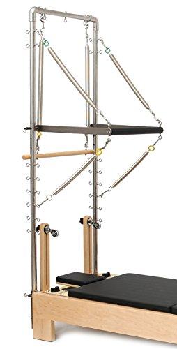 Yogistar Pilates Star Half Cadillac – Negro – Extensión para el reformador de arce corto y pierna terapéutica