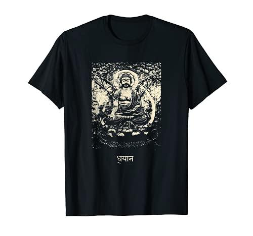 Buddhism Meditation - Buddha Om Dhyana Buddhist Zen T-Shirt