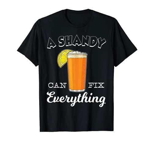 Cerveza Casera Bebida de Verano Shandy Camiseta