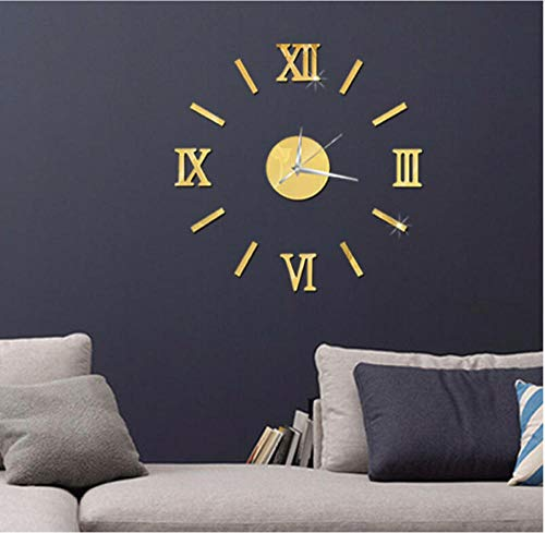 Wandklok Plexiglas Art Wandklok Grote Vintage Wandklok Woonkamer Slaapkamer Woondecoratie Modern Design Silence Clock
