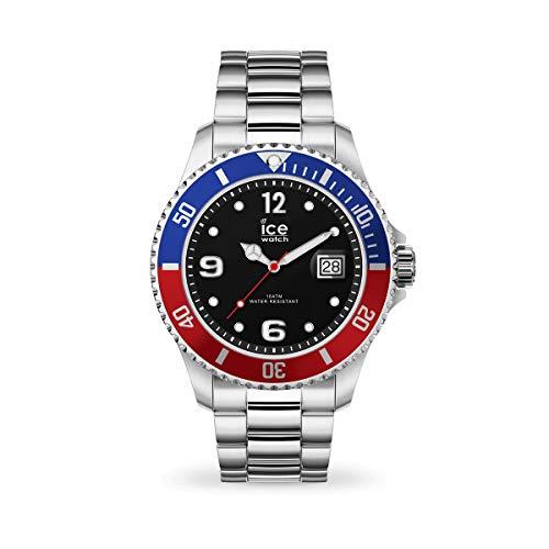 Ice-Watch - ICE steel United silver - Silbergraue Herrenuhr mit Metallarmband - 017330 (Extra large)