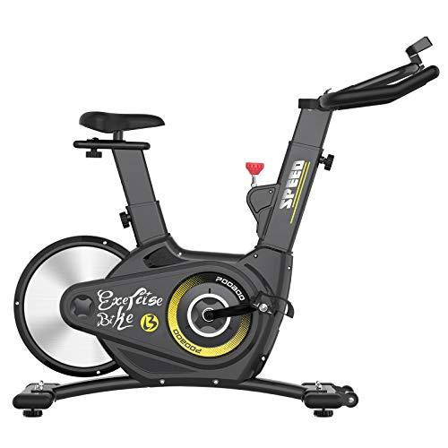 pooboo Exercise Bike Stationary Bike Magnetic Resistance Belt Drive Bike Indoor Cycling Bike with Heavy-Duty Rear Flywheel