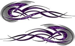 purple flame graphics