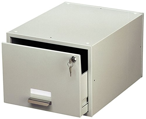 Durable 335110 Karteikasten A4) 1 Stück grau