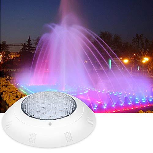 Zwembadlamp, 18 W, meerdere kleuren, LED, onderwaterlamp, zwembad, afstandsbediening, waterdicht, 4 cycli, kleurverandering, in/verlichting voor buiten, verlicht backyard & tuin