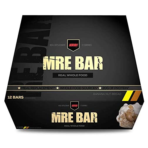 Redcon1 MRE Bar - Meal Replacement Bar (1 Box / 12 Bars) 4