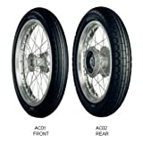 BRIDGESTONE(ブリヂストン) バイク用タイヤ ACCOLADE AC02 Rear (REAR) 110/90-17M/C 60P W MCS00556