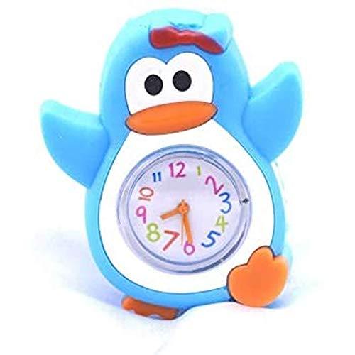 ZAIMA Guarda Carino Pinguino Animale Orologio Ragazzo Bambino Bambino Orologio Bambino Orologio in Silicone Bambino