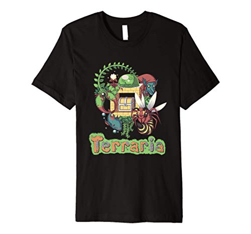 Terraria T-Shirt: Jungle Style
