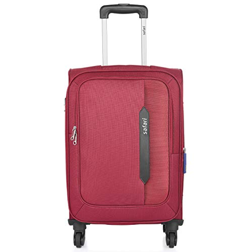 Safari Polyester 71 cms Red Softsided Check-in Luggage (Javelin Duo XL 71)