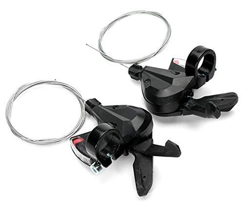 Lisaion Manetas de cambio de bicicleta 8/24 velocidades MTB desviador grupo gatillo velocidad palanca de freno Combo accesorios