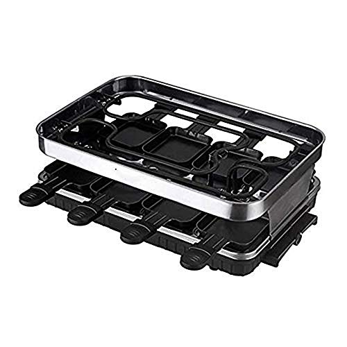 Buy NILINMA Electric baking tray smokeless double-layer multi-function,Smokeless Electric Grill, Gri...