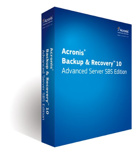 Acronis Backup & Recovery 10 Advanced Server SBS Edition with UR incl. AAP Box DVD