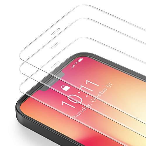 Bewahly Panzerglas Schutzfolie für iPhone 12 Mini [3 Stück], Ultra Dünn Panzerglasfolie HD Bildschirmschutzfolie 9H Festigkeit Glas Folie mit Positionierhilfe für iPhone 12 Mini 5.4