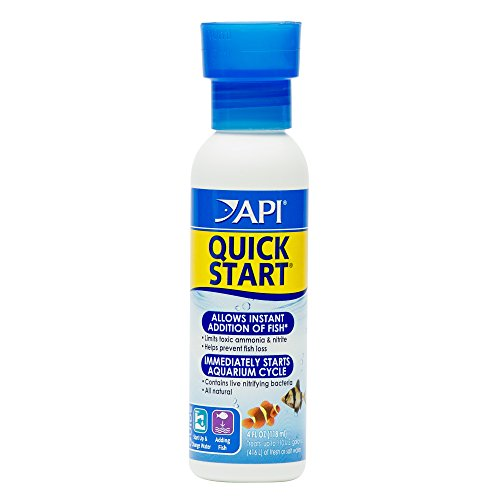 API QUICK START Freshwater and Saltwater Aquarium Nitrifying Bacteria 118 ml Bottle