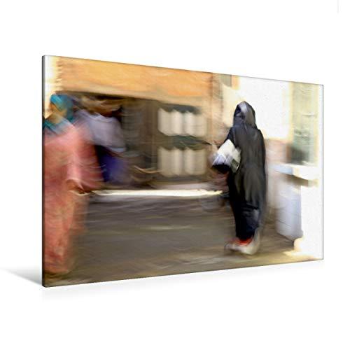 Premium - Lienzo de lienzo (120 x 80 cm, horizontal), diseño de Marrakesch Calvendo Orte