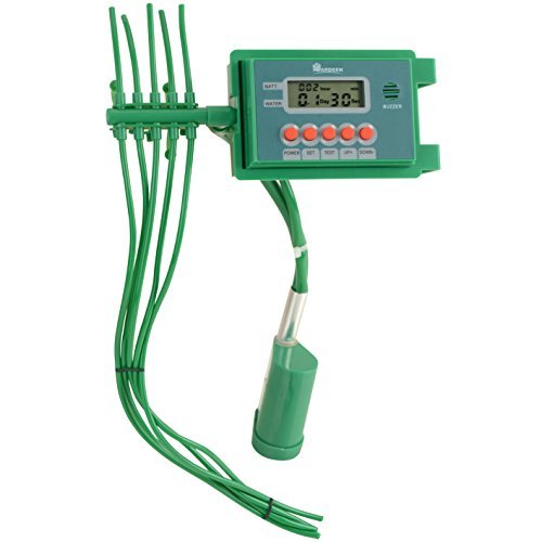 Yardeen 10 Pots Automatic Drip Irrigation Set Self Watering Automatic System Sprinkler Controller Color Green
