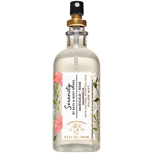 Bath and Body Works Aromatherapy SERENITY - MARIGOLD ROSE + MAGNOLIA Pillow...