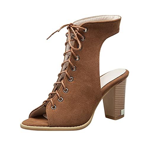 GOKOMO-A Sandales Femme éTé Sandales Romaines Chaussures Plates Confortables à Bout Ouvert Tissé ExtéRieur Sandales Occasionnels Coin Tapis De Yoga OrthopéDique