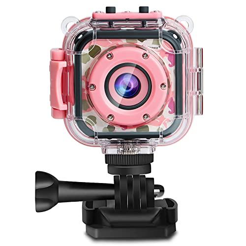 PROGRACE Kids Camera 1080P Digitale Foto- /...