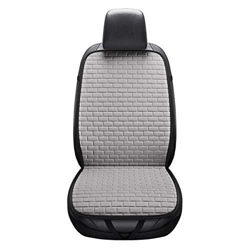 Cubierta de asiento de coche Asiento de coche de línea protector de la cubierta de la estera del cojín del asiento delantero de fondo automático de conducción con cojín del respaldo de verano for el c