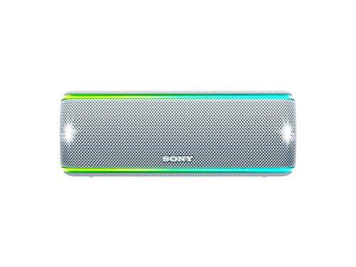 Sony SRS-XB31 Portable Wireless Bluetooth Speaker, White (SRSXB31/W)