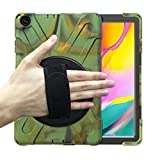 GHC Pad Etuis & Covers pour Samsung Galaxy Tab A 10.1 2016 T580 T585, Support de Silicium de Stand...
