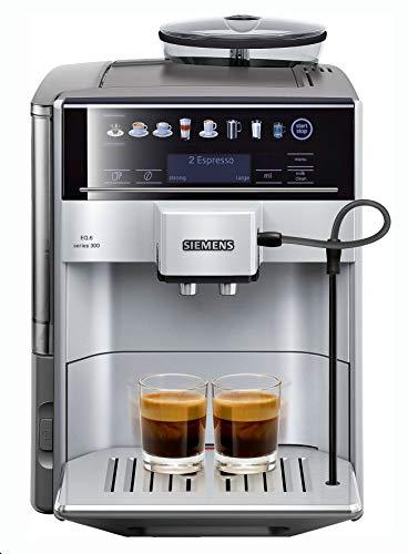Siemens TE603201RW Cafeteraexpressoautomática, 1500 W, 71 Cups, Acero Inoxidable